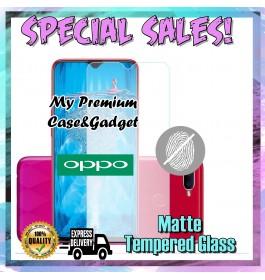Oppo A3S, A5S Matte Anti Fingerprint Tempered Glass