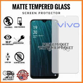 [AG MATTE]Vivo Y53, Y71, Y81, Y91 Anti Fingerprint Full Glue Gaming Tempered Glass