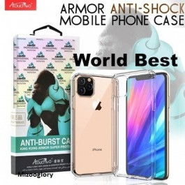 iPhone 5/5S/SE, 6/6S, 7/8/SE 2020, 7 Plus/8 Plus, X/XS, XR, XS Max, 11, 11 Pro, 11 Pro Max King Kong Anti-Burst Shockproof Super Protection Armour Hard Silicone Case