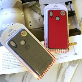 Oppo A3S Luxury Fashion Plain Jean Design Case