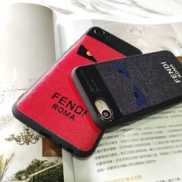 Huawei Y9 2019, Nova 2 Lite Branded Fendi Devil Eyes Soft Silicone Fashion TPU Case