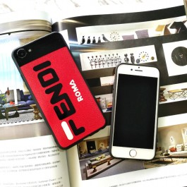 iPhone 5/5S, 6/6S, 6 Plus/6S Plus, 7/8, 7 Plus/8 Plus Branded Fendi Logo Soft Silicone Fashion TPU Case