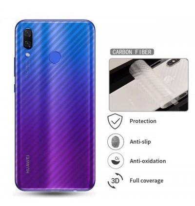 Huawei Y5, Y9 2019,Y9P, Y9S 3D Anti Fingerprint Back Carbon Fiber Sticker Film