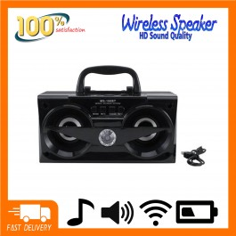 Portable Wireless Speaker MS180BT With Bluetooth Loudspeaker Music MP3, USB, Memory Card Super Clear Sound Bass