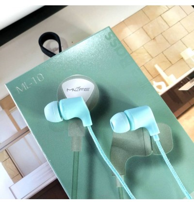 New Wired ML-10 Sport Super Bass Stereo Earphone With Microphone