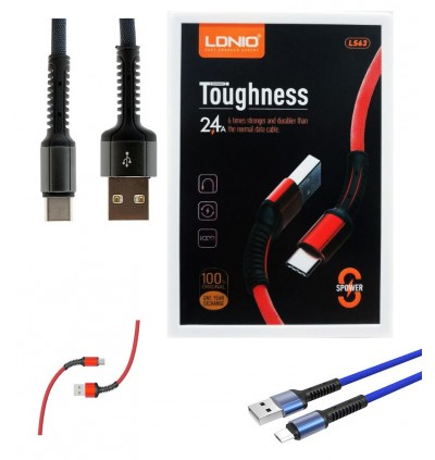 LDNIO LS63 Android Micro Ultra Fast Charging & High Speed 2.4A Data Sync USB Cable