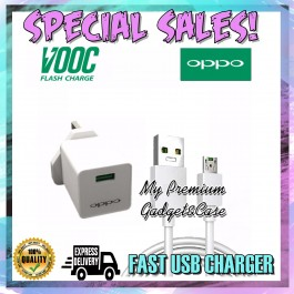 Oppo VOOC Fast Charging Flash 5V/4A Travel Charger With Micro USB Cable UK 3 Pin