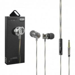 Aiersenn A905 Wired Colorful Superbass Earphone With Mic