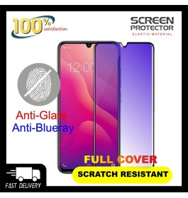 Samsung Galaxy A10, A20, A30, A50 5D Full Cover Matte Anti Blue Ray Tempered Glass