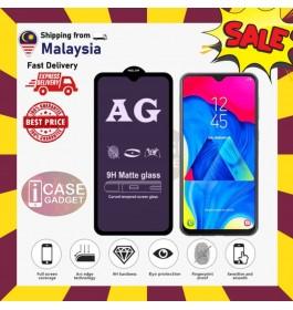 [FULL COVER] Huawei Y5 2019, Y5P, Y6P, Y7 Pro,Y9 2019,Y9 Prime 9D AG Matte Anti Blue Ray Light Fingerprint Full Glue Gaming Tempered Glass